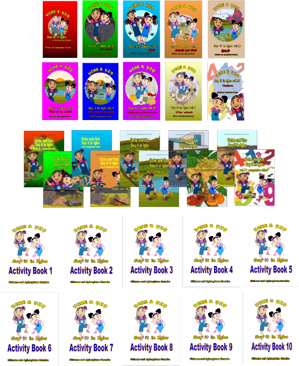 Collection of vol 1-10 picture books, DVDs and Activity books.